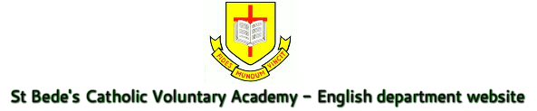 Saint Bede's Academy English Department